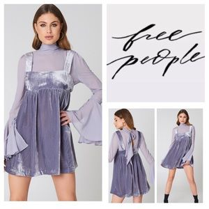 Free People Counting The Stars Mini Dress.  NWT.